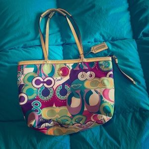 Coach Poppy collection bag